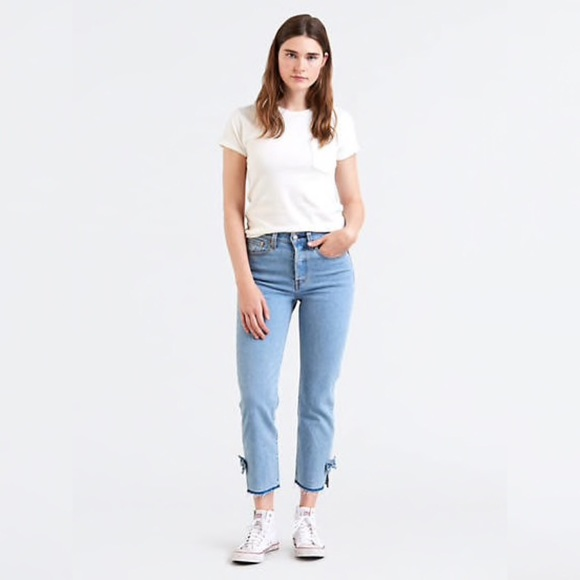 Levi's Denim - Levi's 501 Jeans Wedgie Fit High Rise Bow Re/Done